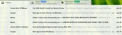 caranya membuka email